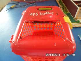 RFID Based Shopping Trolly System